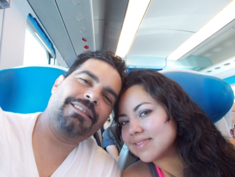 Our first train