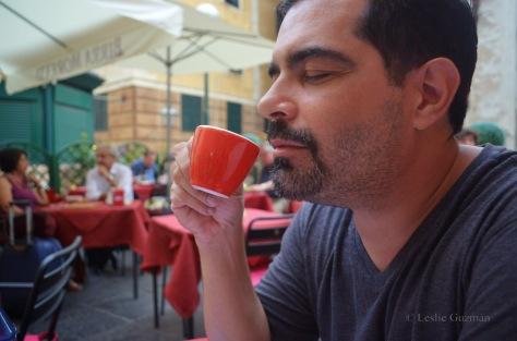 Coffee in Genova