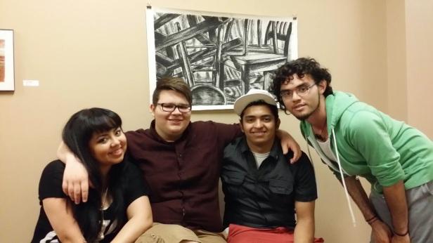 With the art boys