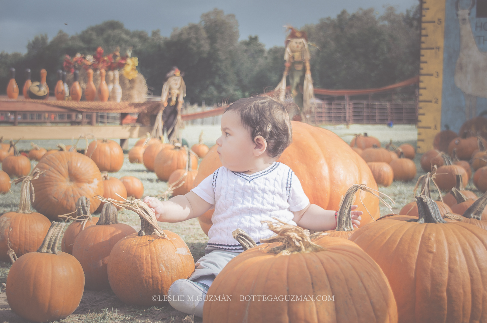 First Fall Activity – Pumpkin Patch